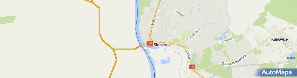 Zdjęcie satelitarne Biuro Architektoniczne Łukasz Biernacki