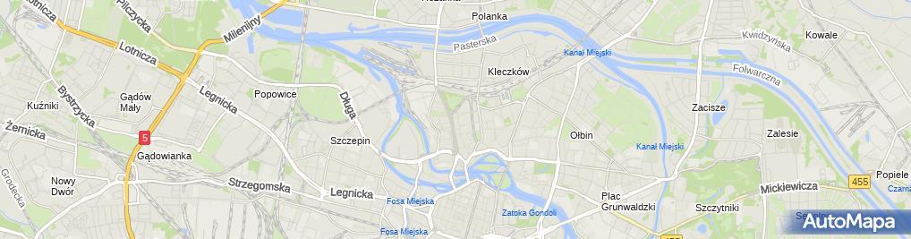 Zdjęcie satelitarne Dariusz Klamiński Vacor