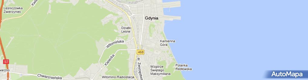 Zdjęcie satelitarne Łukasz Maraszek LUK Studio Pracownia Projektowa Łukasz Maraszek