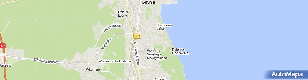 Zdjęcie satelitarne Pracownia Architektoniczna