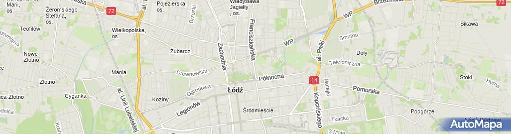 Zdjęcie satelitarne Pracownia Architektoniczno Urbanistyczna Studio 3