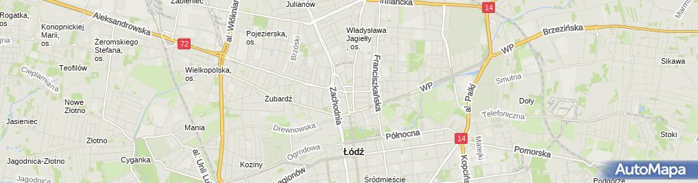 Zdjęcie satelitarne Rynek Starego Miasta i Plac Kościelny