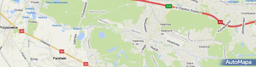 Zdjęcie satelitarne Auto-Moto