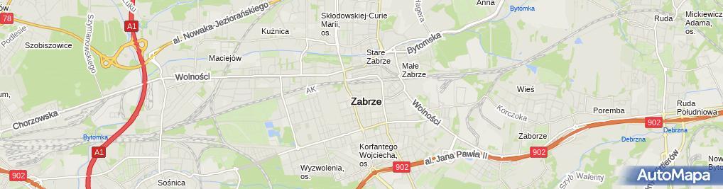 Zdjęcie satelitarne Autoczęści - Sklep