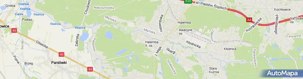 Zdjęcie satelitarne e-AutoSklep.pl Akcesoria Samochodowe