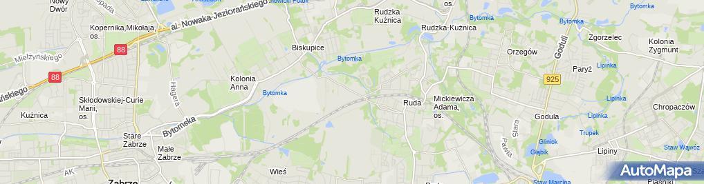 Zdjęcie satelitarne Ma. Ja.