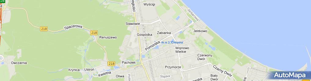 Zdjęcie satelitarne Pewek