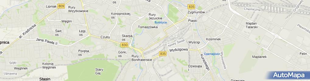 Zdjęcie satelitarne TechSmart Paweł Serewa