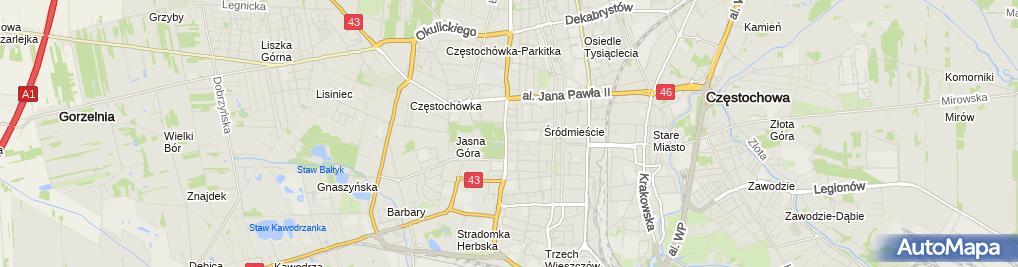 Zdjęcie satelitarne APERITIF