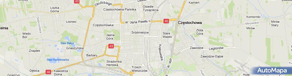 Zdjęcie satelitarne U Matuli