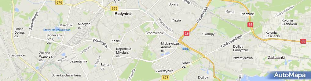 Zdjęcie satelitarne Bershka - Sklep odzieżowy