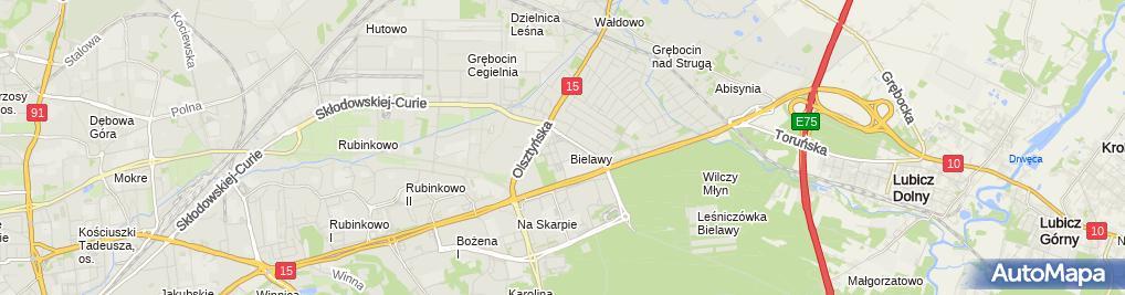 Zdjęcie satelitarne Bialcon - Sklep odzieżowy