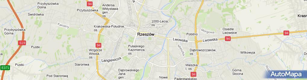 Zdjęcie satelitarne Pedagogiczna Biblioteka Wojewódzka