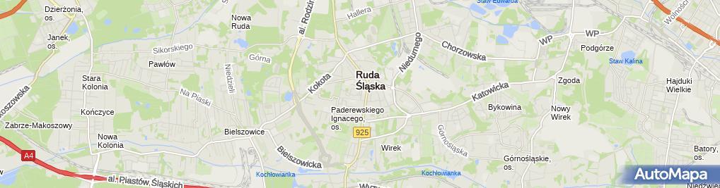 Zdjęcie satelitarne Miejska Biblioteka Publiczna Filia nr17