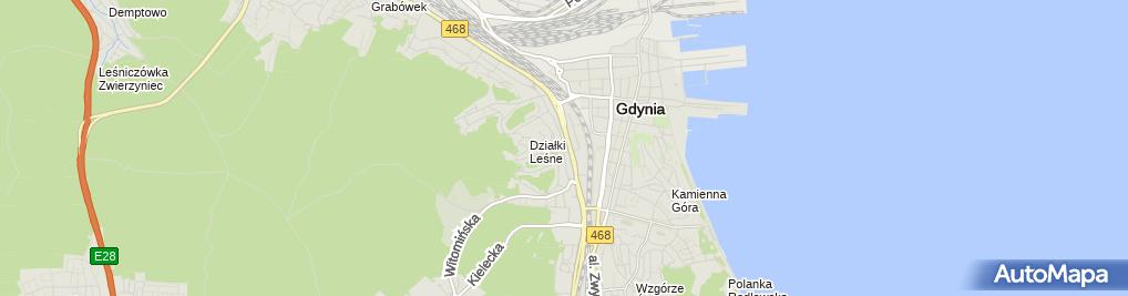 Zdjęcie satelitarne Miejska Biblioteka Publiczna