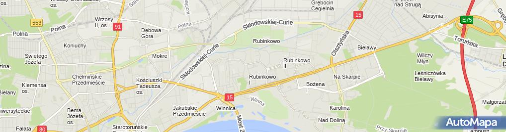 Zdjęcie satelitarne Wojewódzka Biblioteka Publiczna - filia nr 14