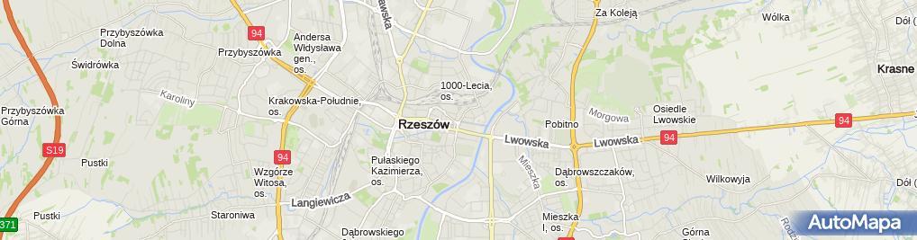 Zdjęcie satelitarne Wojewódzka i Miejska, Publiczna Filia nr 2