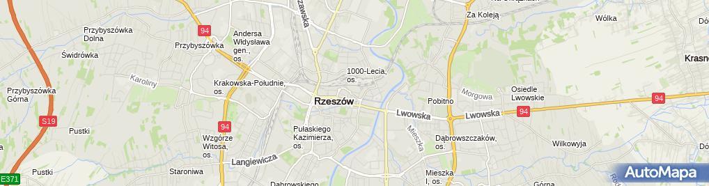 Zdjęcie satelitarne Sportowy Klub Bilardowy Ósemka