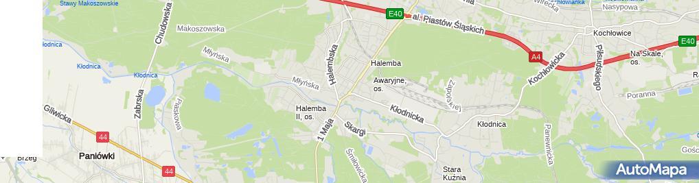 Zdjęcie satelitarne Alman-Nieruchomości, Obrót, Wycena Marian Nowak