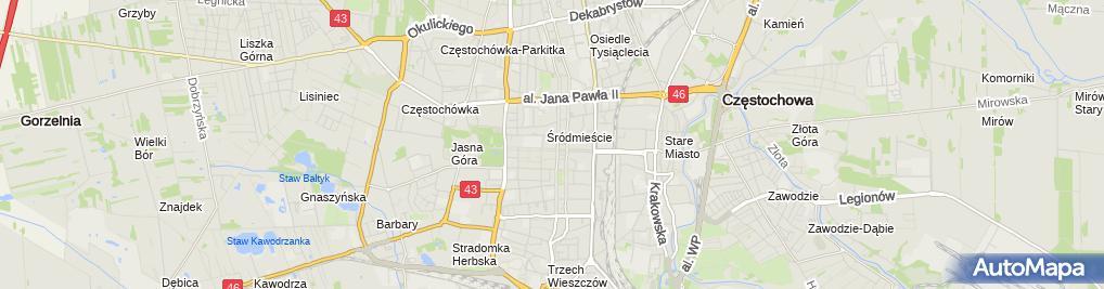 Zdjęcie satelitarne Biuro Obsługi Nieruchomości Maciej Gonera