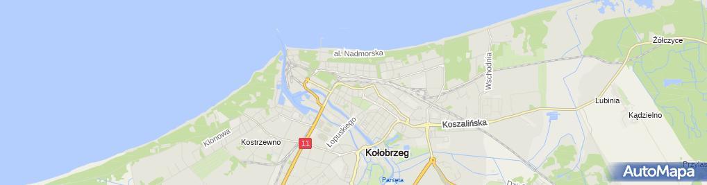 Zdjęcie satelitarne Certus Nieruchomości