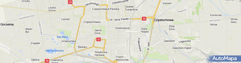 Zdjęcie satelitarne EWA-POL