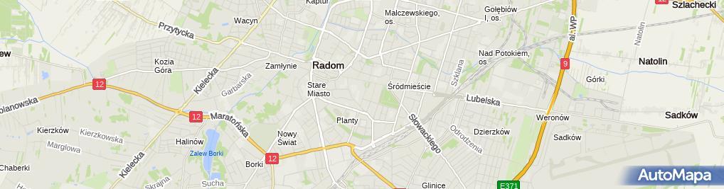 Zdjęcie satelitarne Iwona Chudzik Wspólnik Spółki Cywilnej Kancelaria Obsługi Rynku Nieruchomości