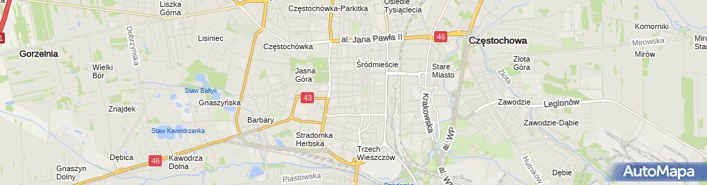 Zdjęcie satelitarne Nieruchomości&Architektura Arendaxa S C