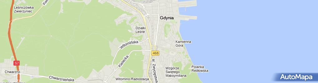 Zdjęcie satelitarne Nieruchomości I.M. Osińscy