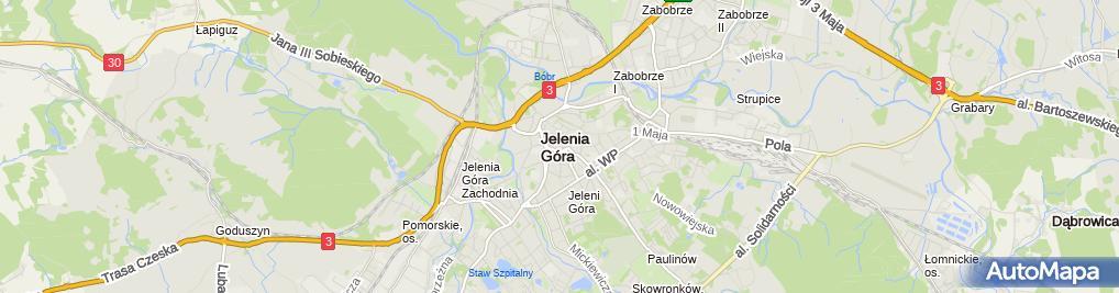 Zdjęcie satelitarne PELKOM