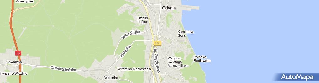 Zdjęcie satelitarne Stalko-Nieruchomości Karolina Kaczmarek