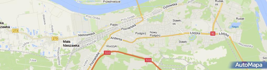 Zdjęcie satelitarne Wycena Nieruchomości Er Ka