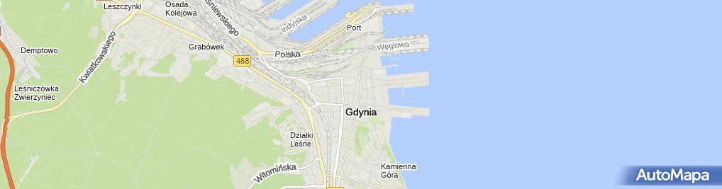Zdjęcie satelitarne Biuro Rachunkowe BR