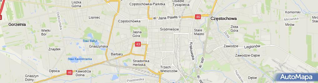 Zdjęcie satelitarne Biuro Rachunkowe Complex Doradca Podatkowy
