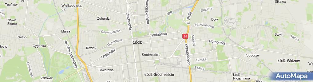 Zdjęcie satelitarne Biuro Rachunkowe Egida Zdzisława Kaukiel i Monika Kaukiel