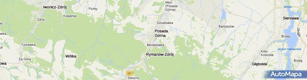 Zdjęcie satelitarne Biuro Rachunkowe Ewa Szałankiewicz-Rodzinka