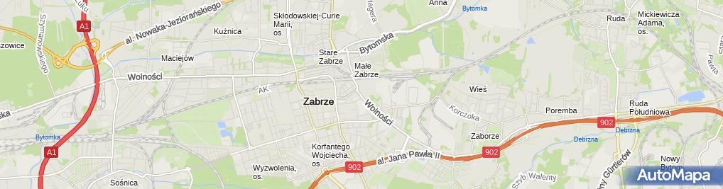 Zdjęcie satelitarne Biuro Rachunkowe Fiskus S C Krystyna Jędrusik Rafał Jędrusik