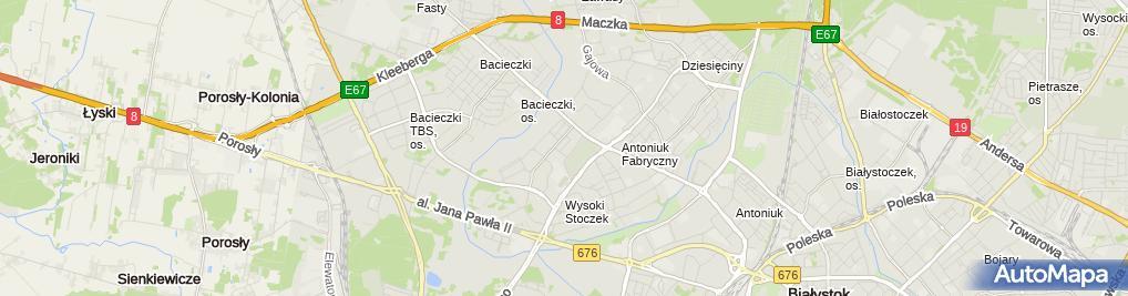 Zdjęcie satelitarne Biuro Rachunkowe Invoice Wspólnik Spółki Cywilnej