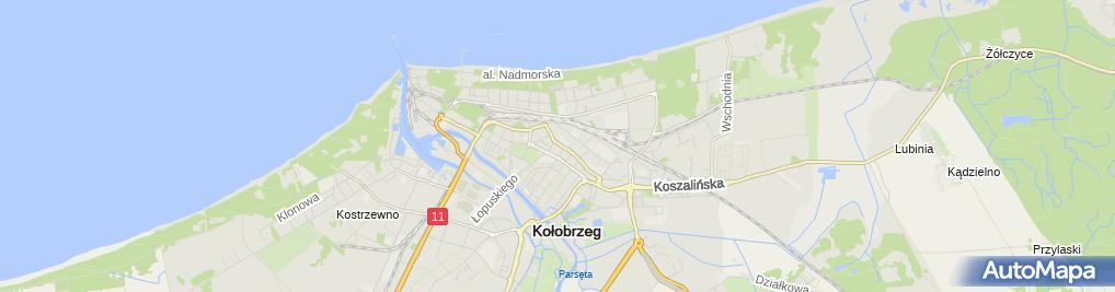Zdjęcie satelitarne Biuro Rachunkowe Jolanta Olczak Doradca Podatkowy