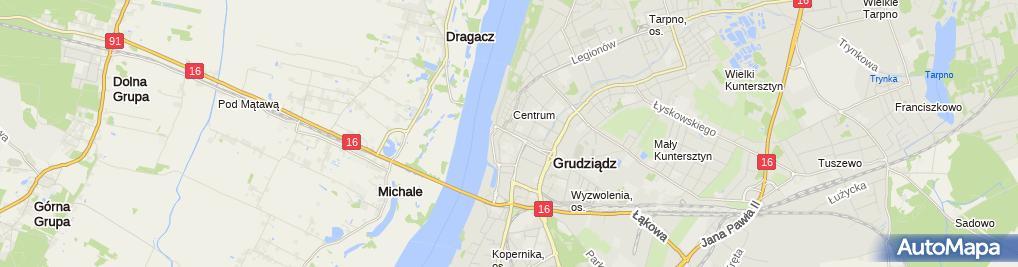 Zdjęcie satelitarne Biuro Rachunkowe Prowizja Walkowski Krystian Walkowska Elżbieta