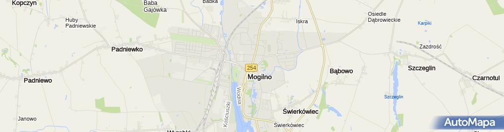 Zdjęcie satelitarne Biuro Rachunkowe Wiesława Cichowlaz