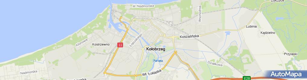 Zdjęcie satelitarne Biuro Rachunkowo Księgowe