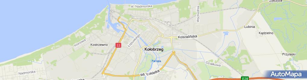 Zdjęcie satelitarne Biuro Rachunkowo Podatkowe