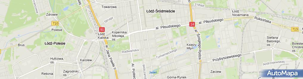 Zdjęcie satelitarne Biuro Usług Rachunkowo Księgowych DR Bernard Luciak i Wspólnicy