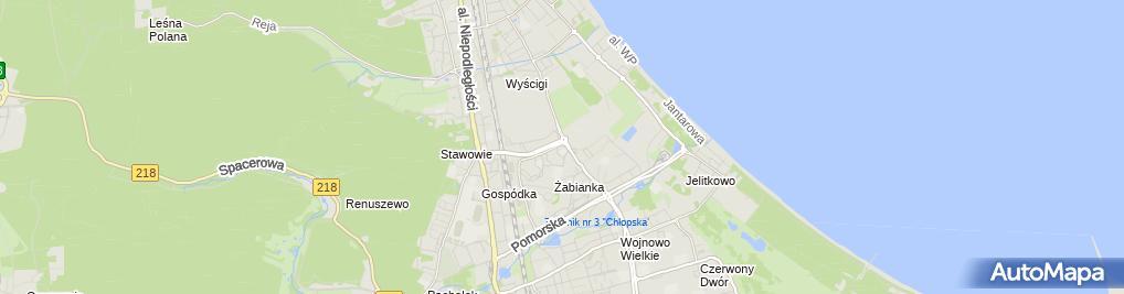 Zdjęcie satelitarne Grosik Biuro Rachunkowe Jadwiga Kręczkowska