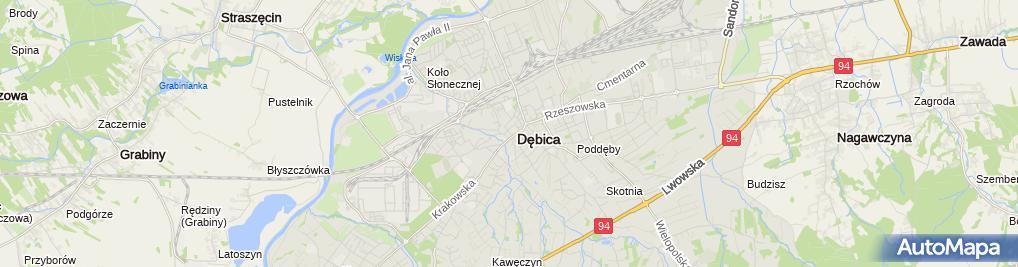 Zdjęcie satelitarne KFK Księgowość Finanse Kadry Agnieszka Gawlik-Wojnarowska