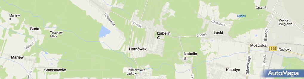 Zdjęcie satelitarne KODA Agnieszka Kopeć