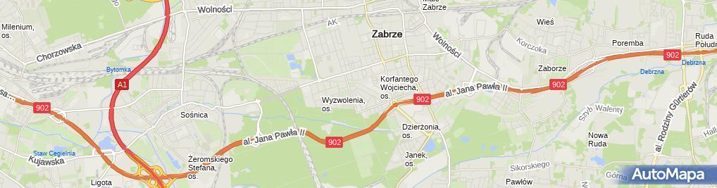 Zdjęcie satelitarne Libra Kancelaria Rachunkowa Bożena Studzińska-Grzesik