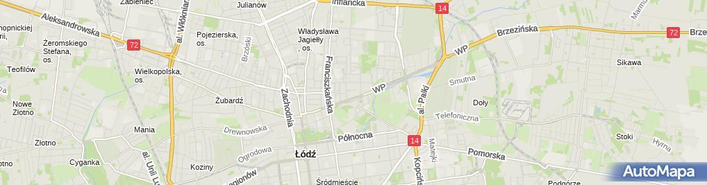 Zdjęcie satelitarne Waldi Biuro Rachunkowe