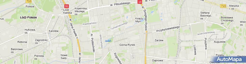 Zdjęcie satelitarne Biurowiec